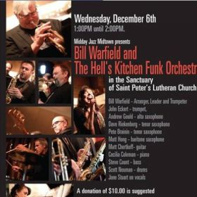 Bill Warfield and the Hell's Kitchen Funk Orchestra