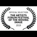 OFFICIAL SELECTION - THE ARTISTS FORUM FESTIVAL OF THE MOVING IMAGE - 2019