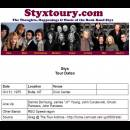 Styx 1975 Oct 31 Butte Montana w REO Speedwagon w Omega Jade not listed
