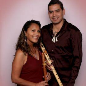 Sacred Wind Flute Player