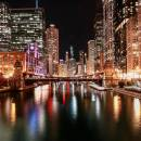 CHICAGO'S RIVERWALK DOWNTOWN