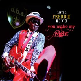 Messin' Around tha Living Room - LITTLE FREDDIE KING blues band