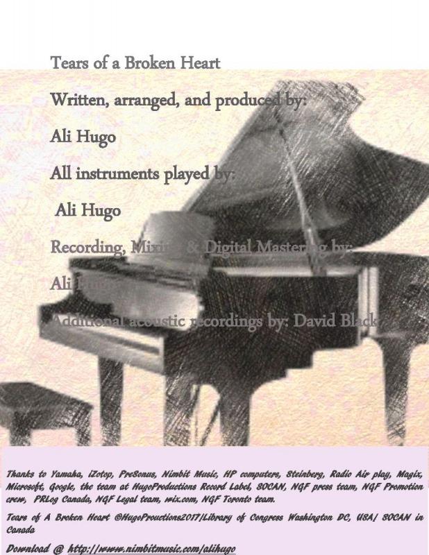 Tears Of A Broken Heart At N1m By Ali Hugo Numberonemusic