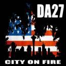 DA 27 City on fire logo