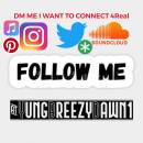 FOLLOW ME ON MY SOCIAL MEDIAS