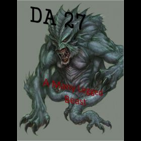 A Many Legged Beast - DA 27